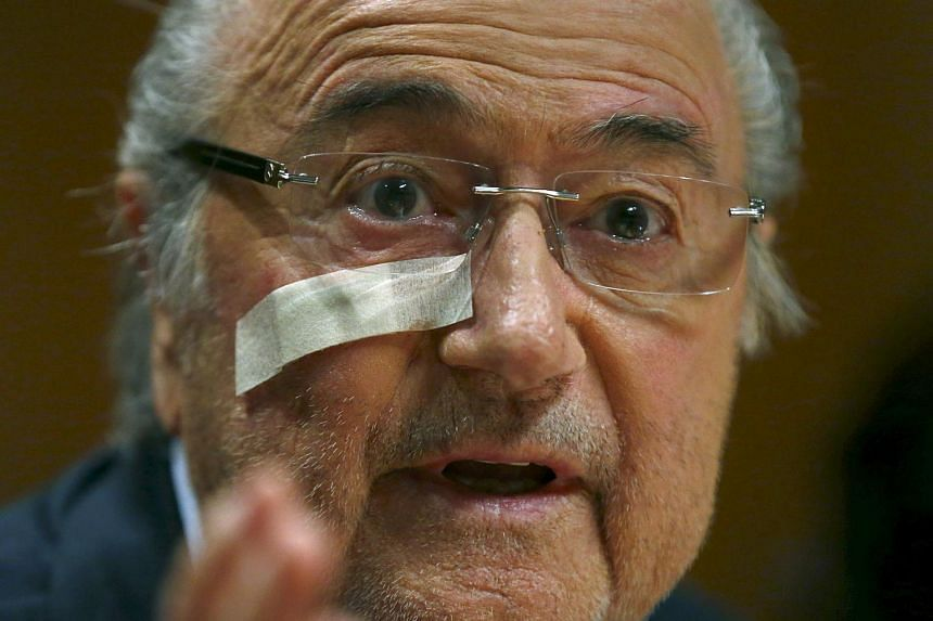 FIFA president Sepp Blatter is not standing for re-election, having been banned for eight years for ethics violations.