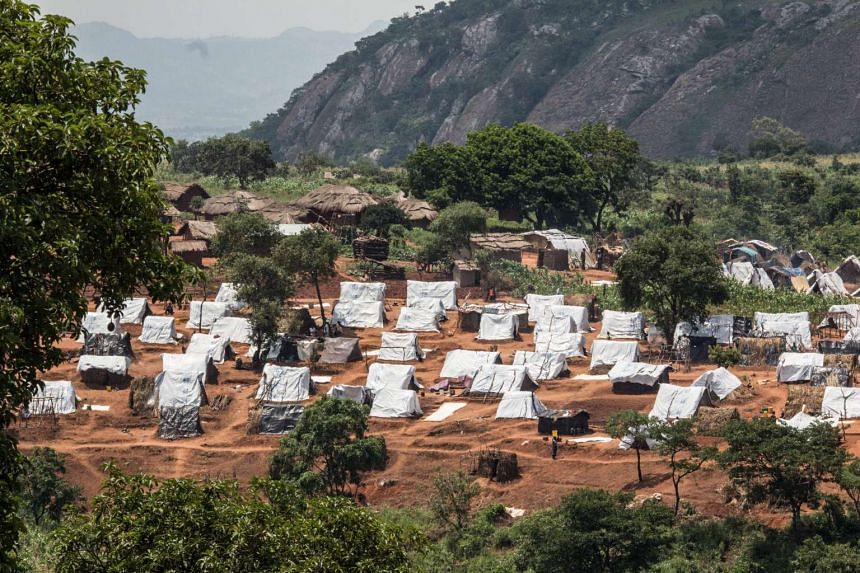 One to the residential areas in the Kapise refugee camp, Mwanza, Malawi.