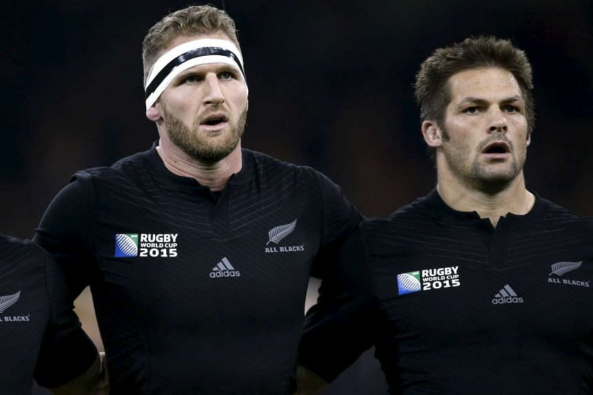 Forward Kieran Read (left) replaces Richie McCaw as the All Blacks captain.
