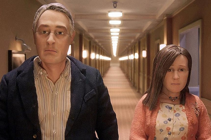 Michael Stone (voiced by David Thewlis) and Lisa (Jennifer Jason Leigh) are the only characters in Anomalisa with their own identities.