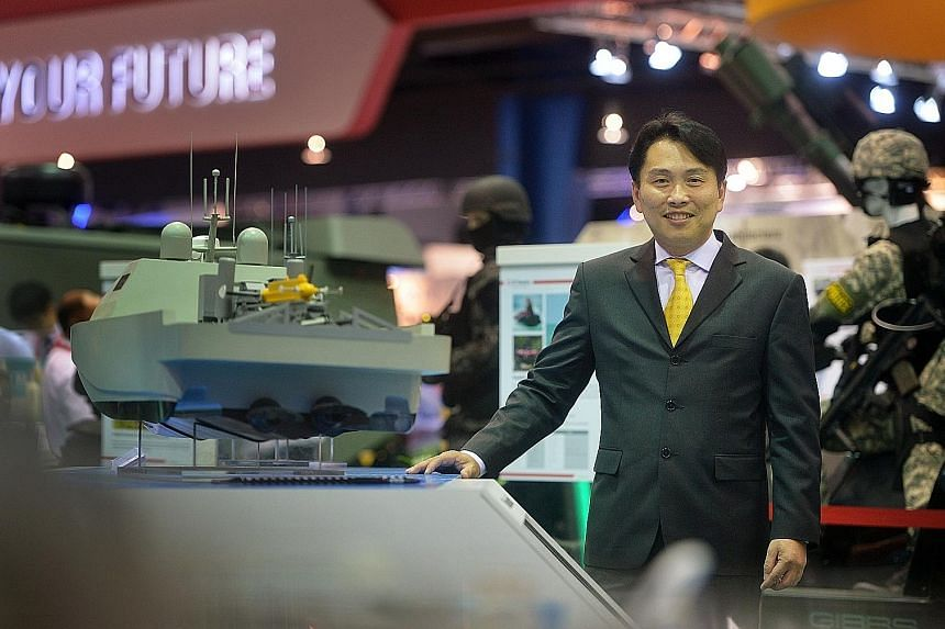 """Mr Chong says the Singapore Airshow 2016 provides a unique platform for ST Engineering """"to showcase and solidify our position as a world-class total solutions provider""""."""