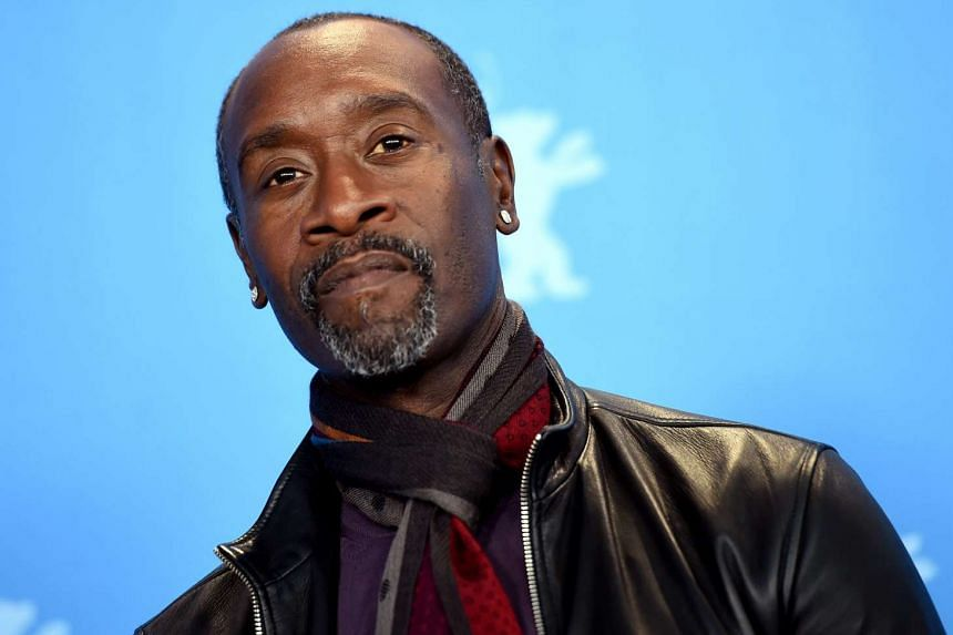 Don Cheadle poses during a photocall for Miles Ahead on Feb 18, 2016.
