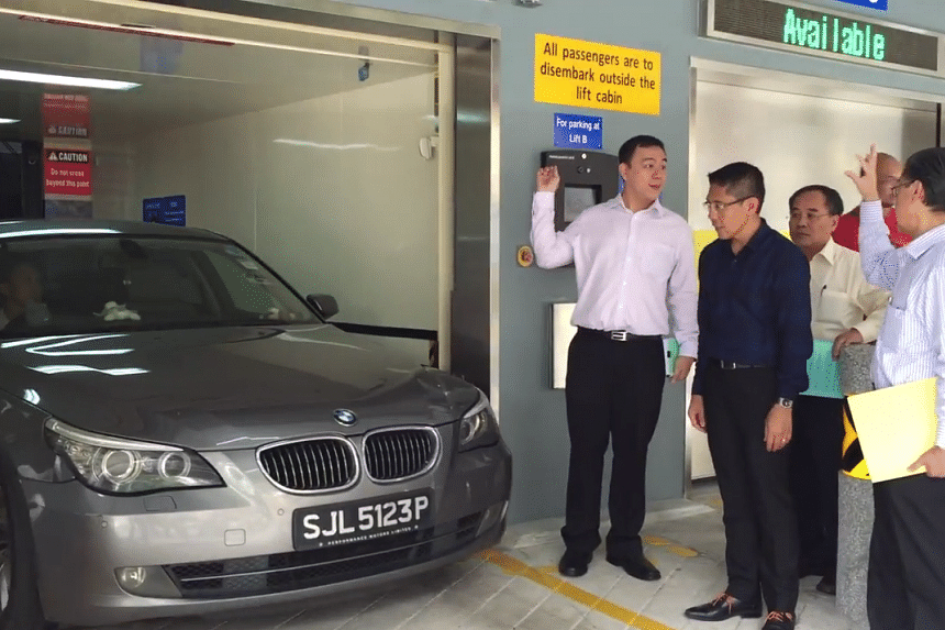 A new mechanised carpark has gone into operation, nearly doubling the number of available lots at Changi Village.