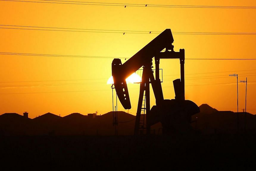 A pumpjack in the oil town of Midland, Texas, on Jan 21.
