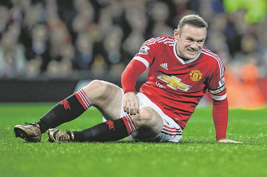 Manchester United's Wayne Rooney during a match against Norwich City at Old Trafford on Dec 19, 2015.