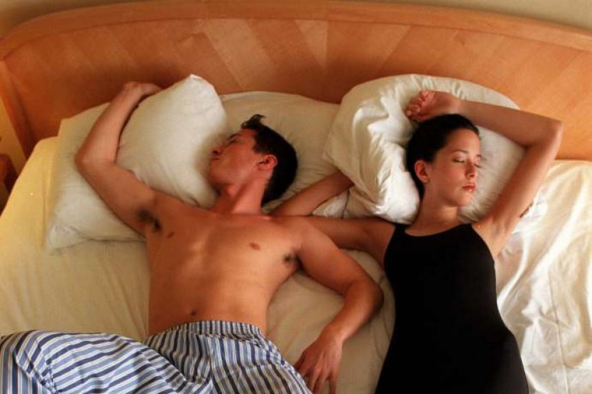 Healthy sleep (posed photo) is defined as at least seven hours per day for adults aged 18-60.