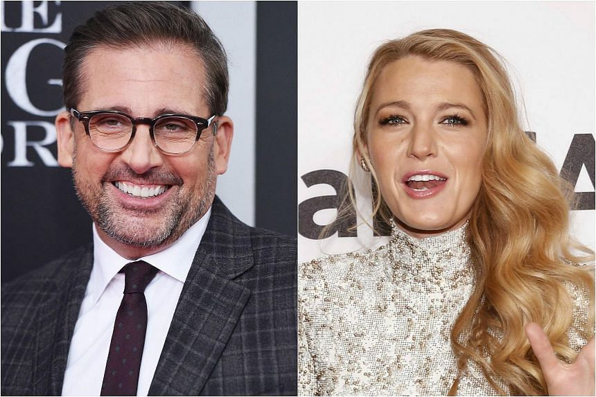 Set in the 1930s, Woody Allen's new romantic comedy stars Steve Carell (left) and Blake Lively.