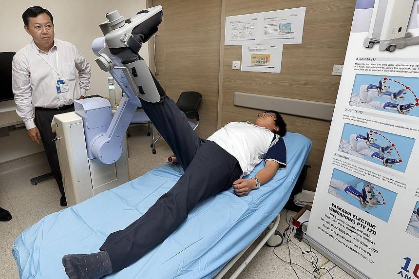 LR2, or Leg Rehabilitation Robot.