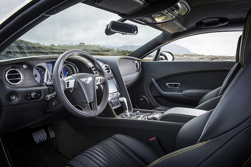 The interiors of the new Continental boast luxurious upholstery and more chrome surfaces.