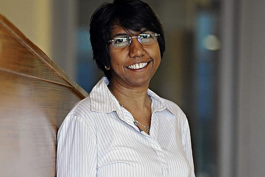 Ms K. Thanaletchimi is president of the Healthcare Services Employees' Union.