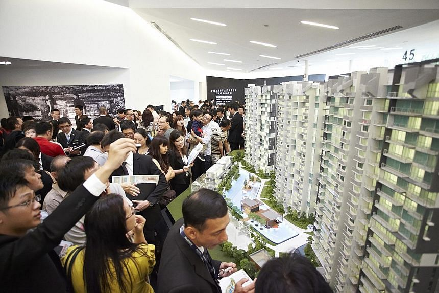 The decrease in the share of results of joint ventures was partially offset by higher progressive sales revenue for the Thomson Three residential project (above).