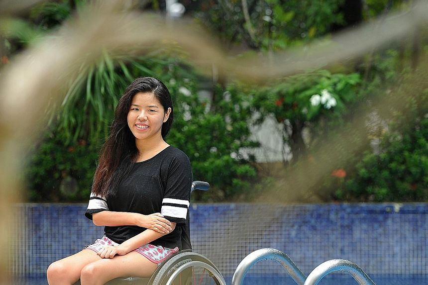 """For 24-year-old Yip Pin Xiu, finding """"different ways to make me faster"""" was crucial as it reaffirmed her faith in her talent. It also taught the 2008 Paralympic champion that it was not time to give up yet."""