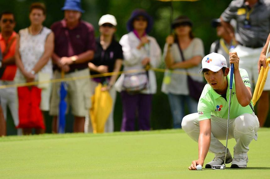 South Korea's Lee Soo Min is in a surprise lead heading into the final  final round of the Maybank Championship Malaysia.