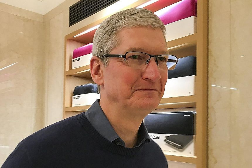 """Apple's chief executive officer Tim Cook believes that """"compromising the security of our personal information can ultimately put our personal safety at risk""""."""