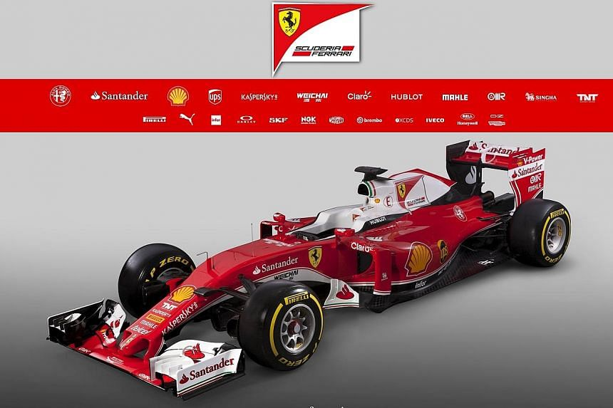 The new Ferrari SF16-H is carrying four-time world champion Sebastian Vettel's hopes of challenging rivals Mercedes in the new season.
