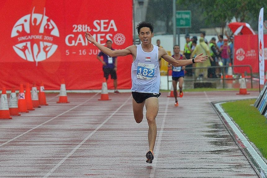 Marathon runner Soh Rui Yong, the 2015 SEA Games gold medallist, may not have the chance to defend his title at the 2017 Games in Malaysia.