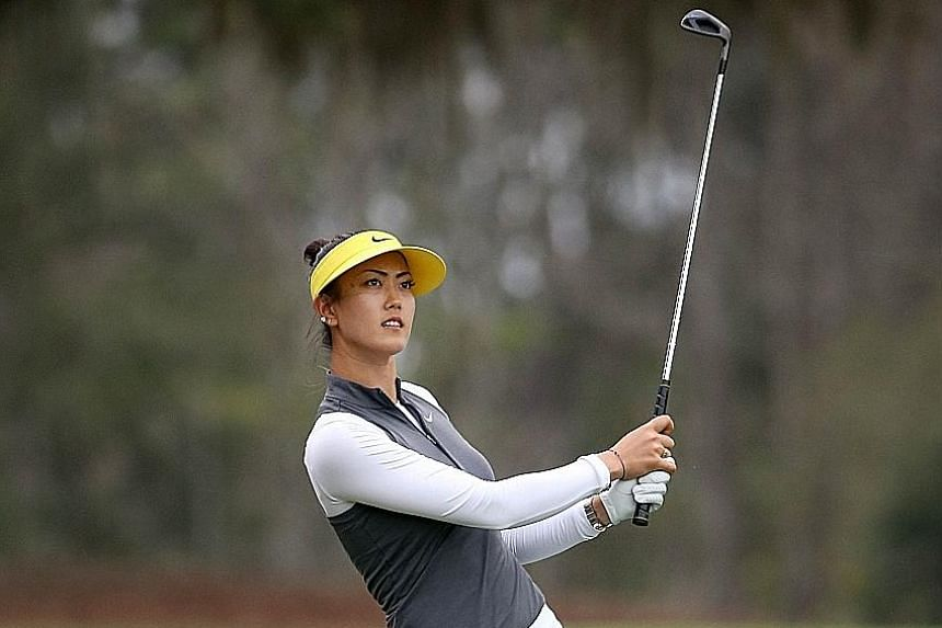 Michelle Wie during the Coates Golf Championship earlier this month, when she ended tied-25th. The US golfer wants an encore of 2014, when she won her first Major, the US Women's Open, and finished second in another, the ANA Inspiration.