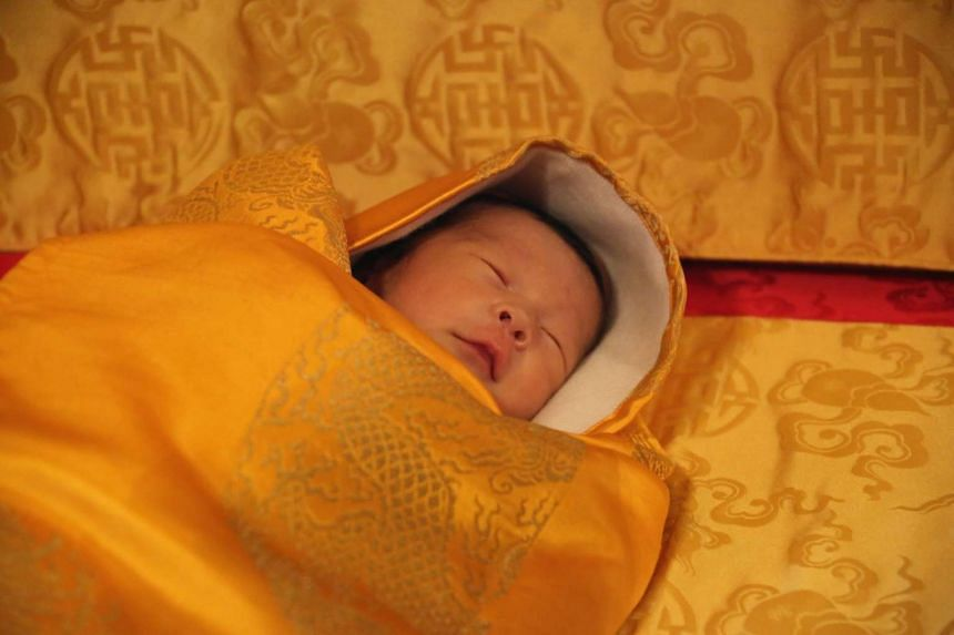 A close-up photo of Bhutan's Prince Gyalsey was released by the royal family.