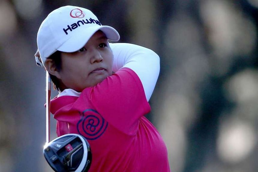 Haru Nomura defeated Lydia Ko to win the Women's Australian Open in Adelaide on Feb 21, 2016.