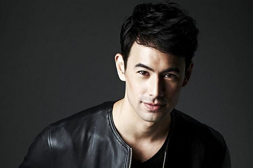 Singapore-based British actor George Young.