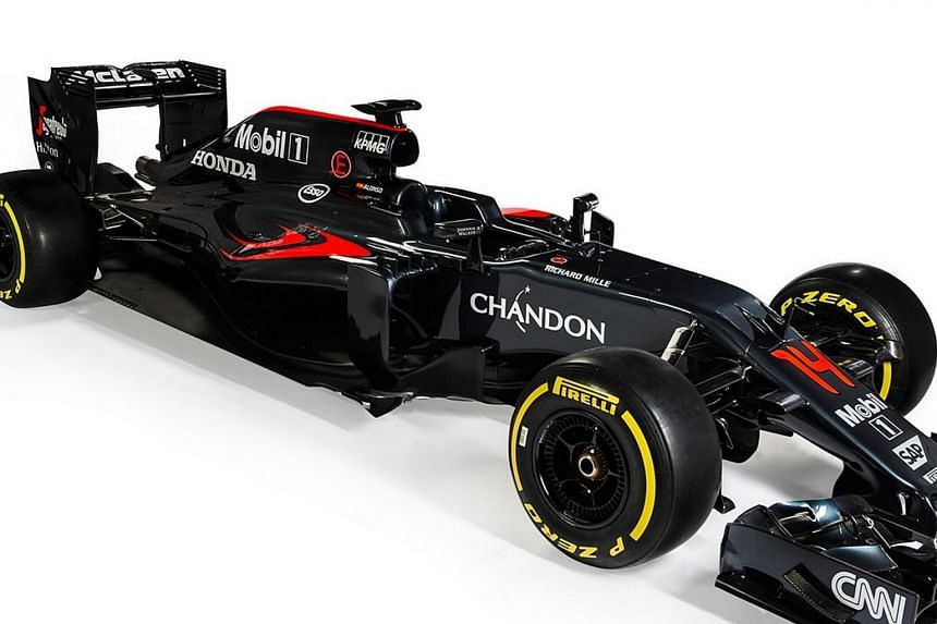 McLaren unveiled their new Formula One car, MP4-31, yesterday.