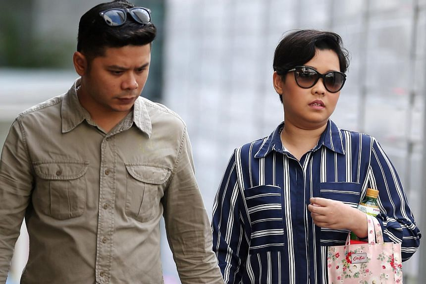 Nuraini Hassan was sentenced to nine months' jail. Her husband Muhadmad AI-Hafiz Nordin completed his four-week jail sentence in June 2015.