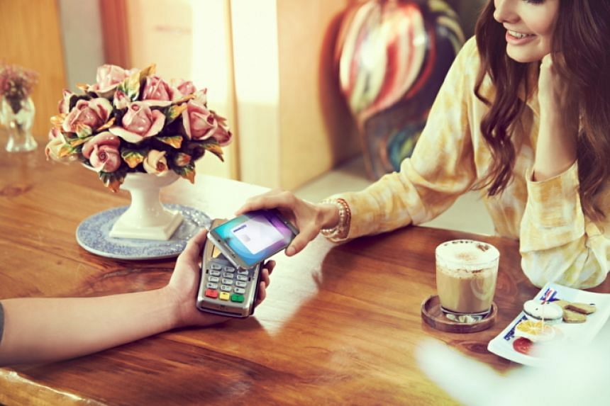 Samsung Pay will roll out in Singapore later this year.
