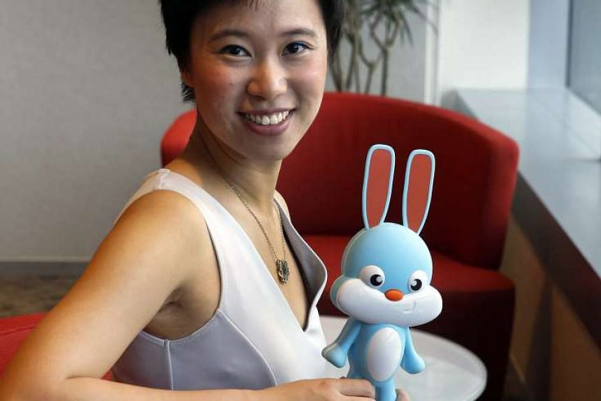 Rabbit Ray's designer, Ms Esther Wang, wanted to help young patients understand the often frightening procedures they have to face while undergoing treatment for cancer or other serious illnesses. This teaching aid helps the children calm down as the