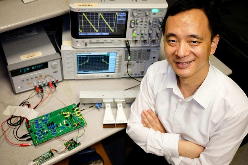 Assistant Professor Zheng Yuanjin from NTU's School of Electrical and Electronic Engineering