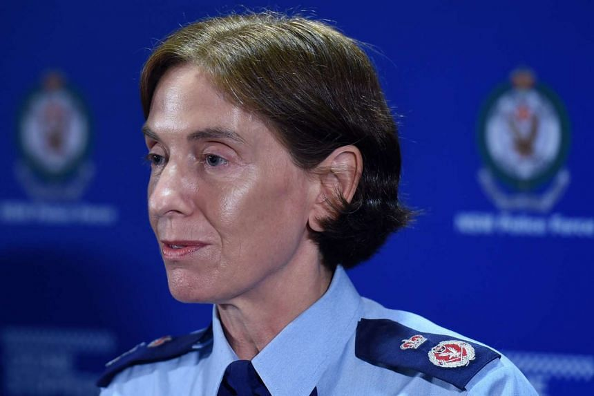 New South Wales (NSW) Police Deputy Commissioner, Catherine Burn, during a press conference in Sydney on Feb 23, 2016.