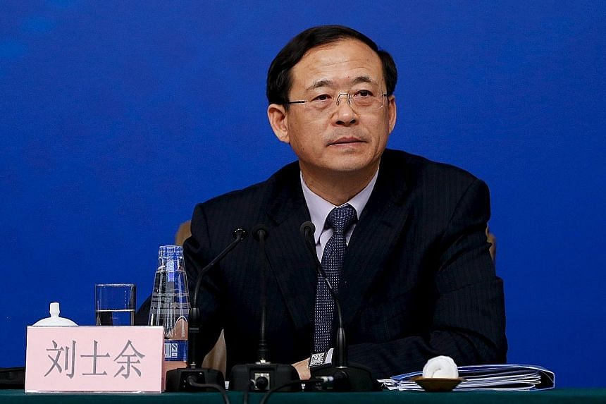 Investors are waiting to see whether Mr Liu Shiyu can stabilise China's stock market following last year's turmoil without backtracking on market liberalisation.