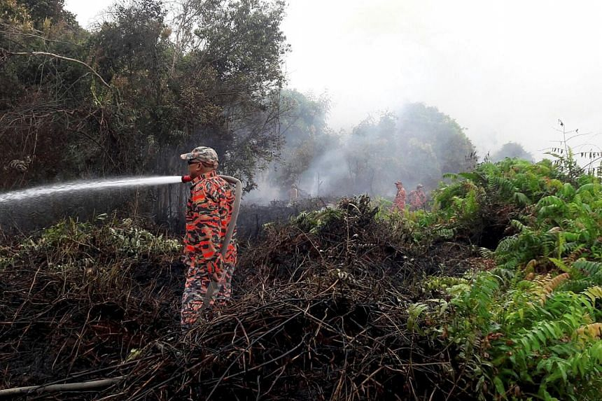 """Firefighters have carried out 60 rounds of aerial water bombings near populated housing areas since Sunday, but the fires have grown in size due to strong winds. The situation is expected to last for a """"minimum of one week""""."""