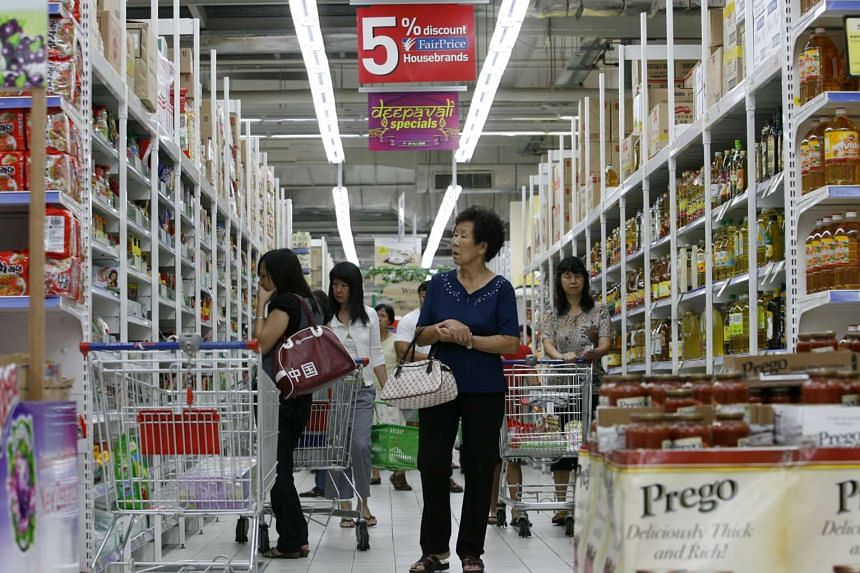 The Government has lowered its forecast for Singapore's headline inflation this year after consumer prices slipped 0.6 per cent in January from a year earlier.
