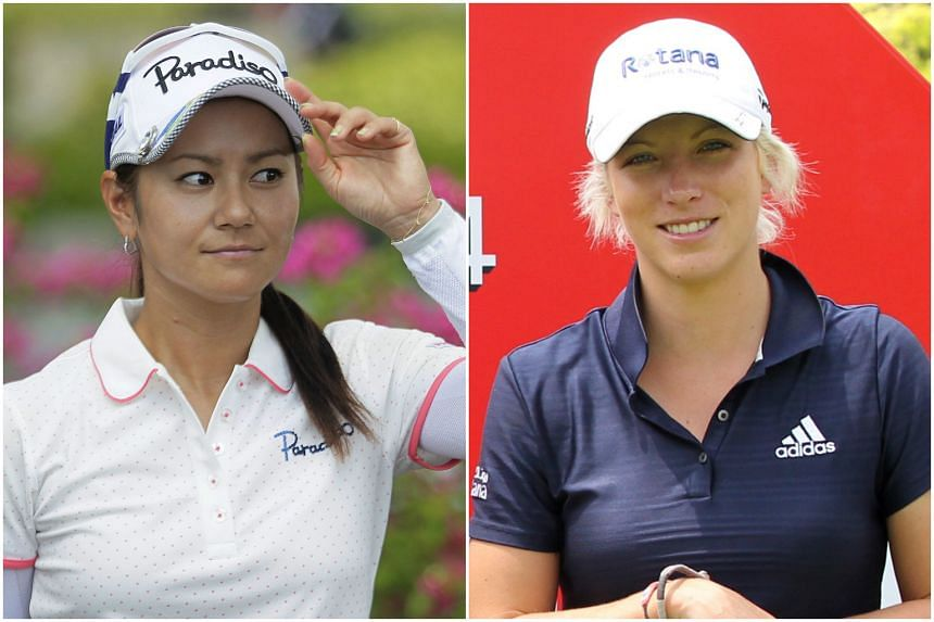 Japan's Ai Miyazato (left) and England's Melissa Reid will be joining the HSCB Women's Champions tournament next month.