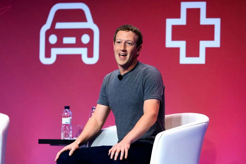 Facebook CEO Mark Zuckerberg speaks at the Mobile World Congress in Barcelona on Monday (Feb. 22).