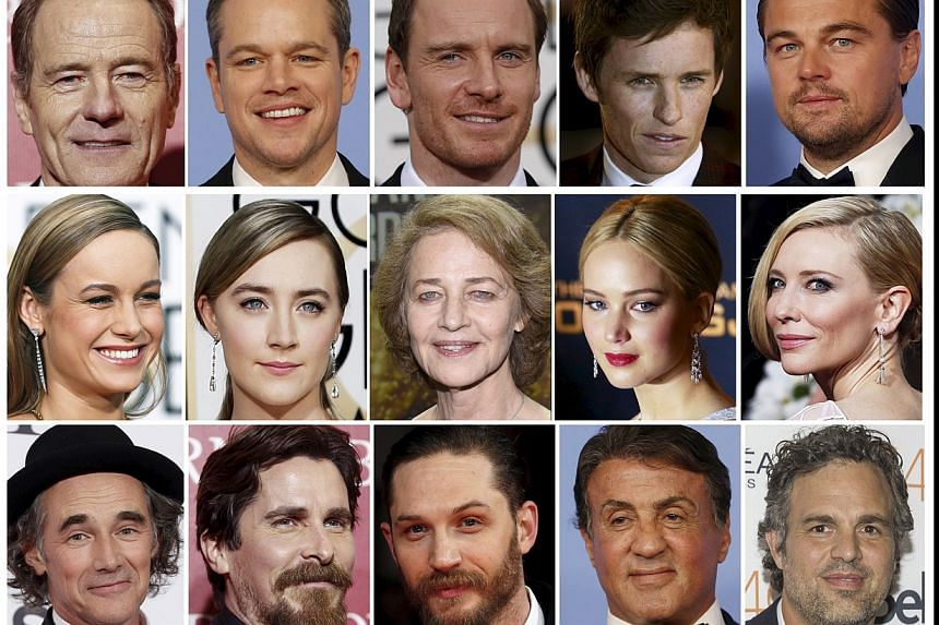 This year's Oscar nominees in the acting categories, reflecting how minorities are vastly under-represented throughout Hollywood, according to a new study.