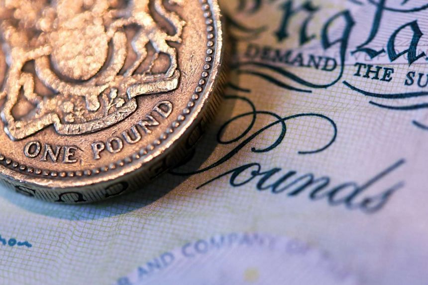The pound hit a seven-year low of US$1.4057 on Monday (Feb 22).