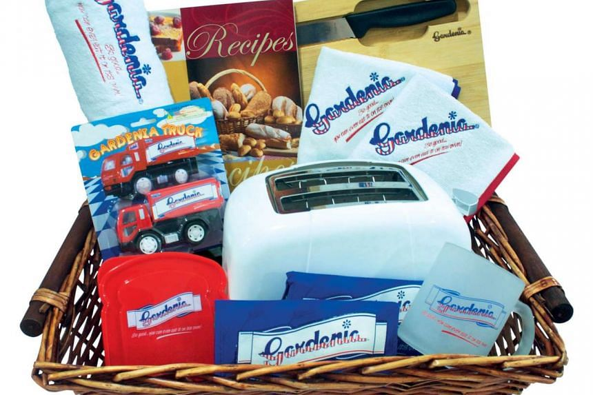 A hamper of products from Gardenia.