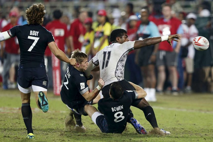 The Singapore Sevens is the eighth of the 10-legged, eight-month competition.