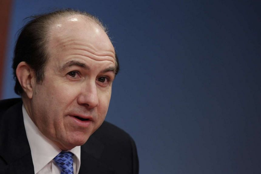 Philippe Dauman, president and CEO of Viacom, speaks at the Reuters Global Media Summit in New York in this Dec 2, 2010 file photo.