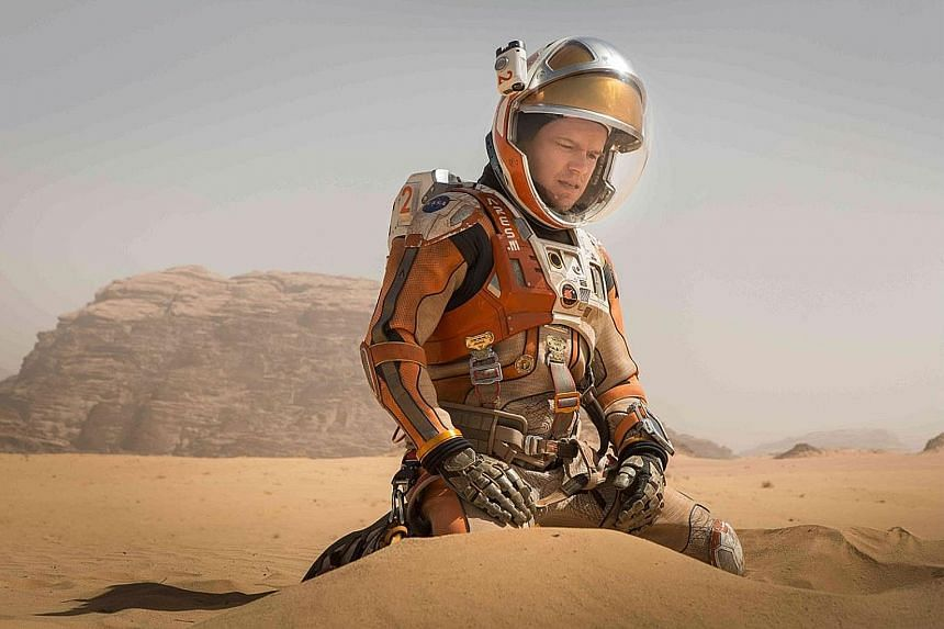 The stunning cinematography that saw sci-fi movies like Star Wars: The Force Awakens (right) and The Martian starring Matt Damon (above) secure critical acclaim and success at the box office was made possible with MotionBuilder's photorealistic anima