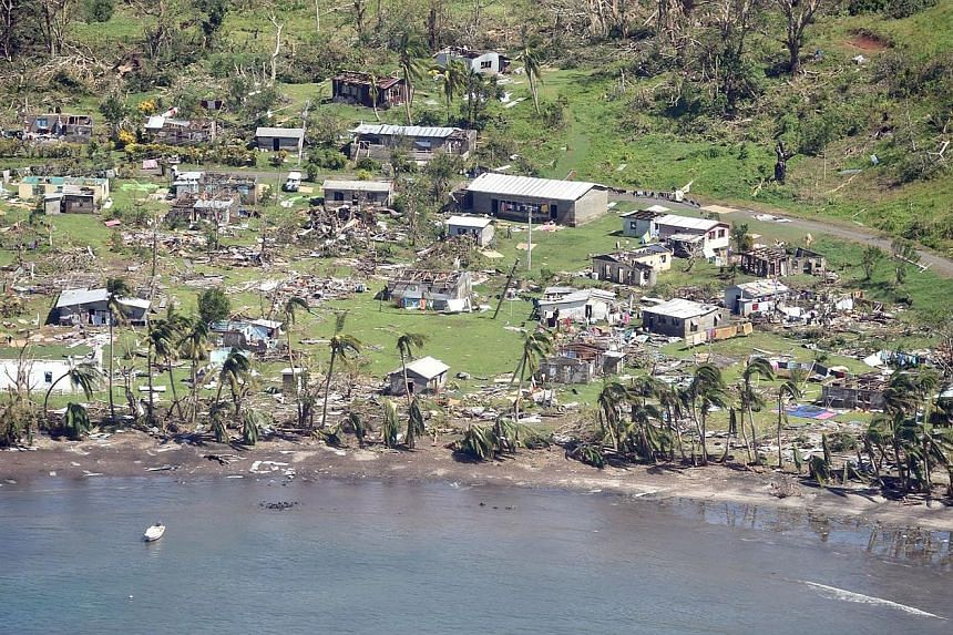 Much of Taviya village in Fiji lies in ruins in the wake of Tropical Cyclone Winston, the most powerful storm recorded in the southern hemisphere. The authorities are still struggling to grasp the scale of the disaster on remote island communities.