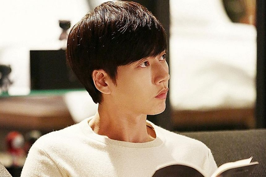 A popular but creepy guy (Park Hae Jin, above) and a girl (Kim Go Eun) who knows his secret make a compelling love story.