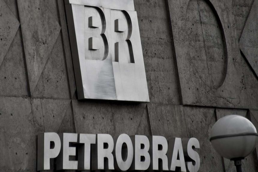 The headquarters of Brazil's state-owned oil company Petrobras in the centre of Rio de Janeiro.