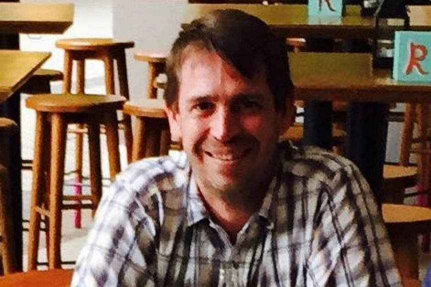 Briton Vince Welensky, who reportedly went missing in Singapore, was reunited with his wife in Britain.