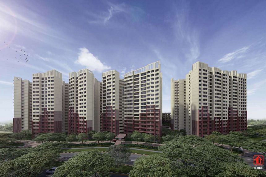 There will be 1,655 flats in West Plains @ Bukit Batok.