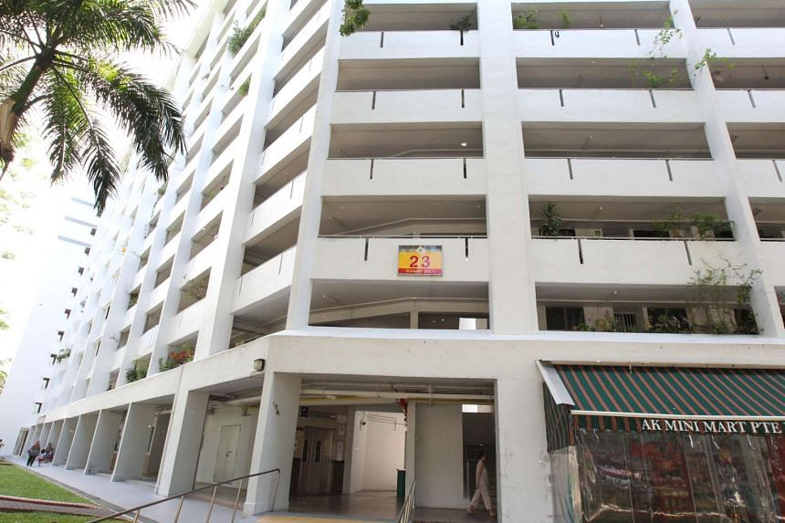 An injured man found at Block 23, Hougang Avenue 3, later died of his injuries in hospital on Feb 25, 2016.