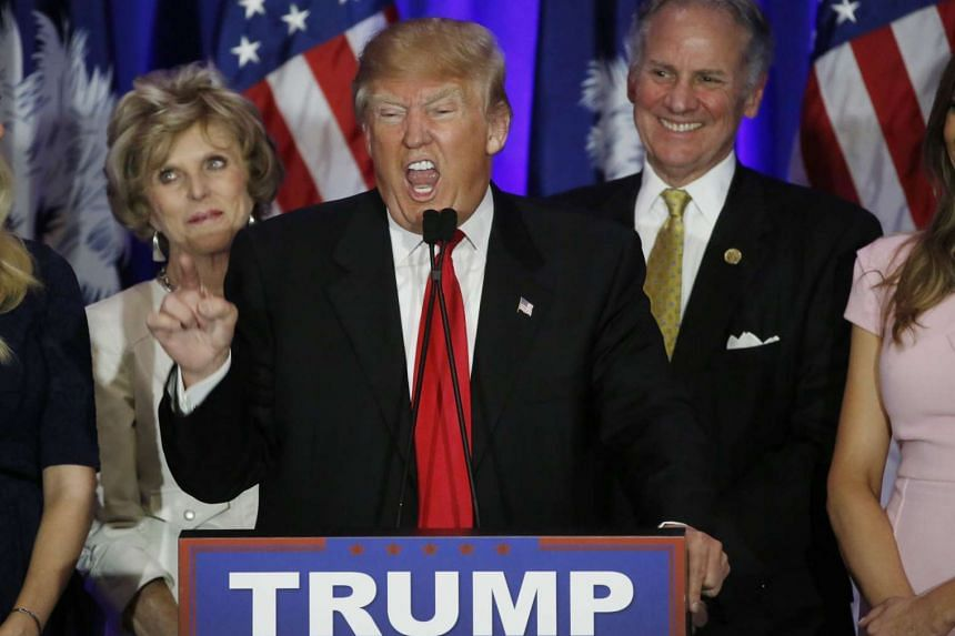 Donald Trump has won three of the first four contests in the Republican presidential nomination fight.