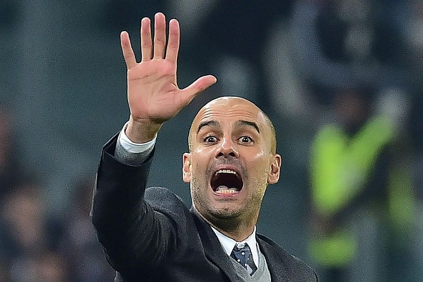 Pep Guardiola was not impressed by questions on his team's fitness after they conceded a late equaliser in Turin.