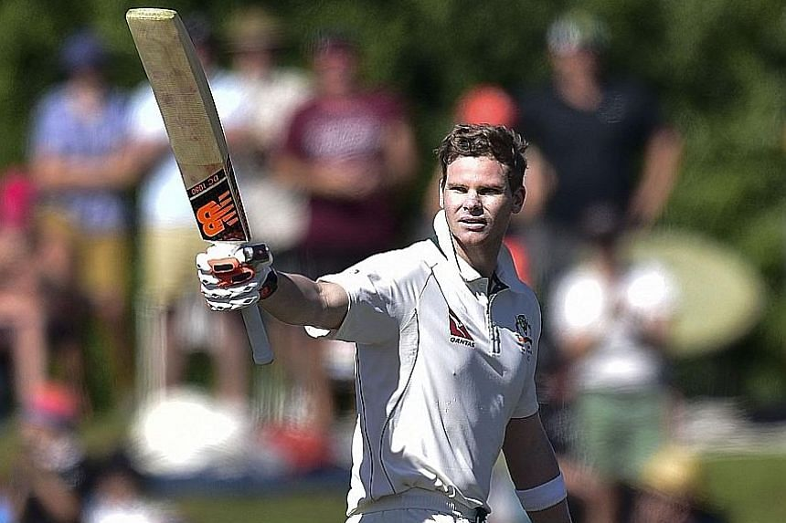 """Australian captain Steve Smith defended his team as """"nice guys"""" while admitting he needs to be a better leader. He and Josh Hazlewood were charged with dissent after challenging the umpires during the second Test against New Zealand in Christchurch."""
